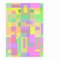 Pastel colorful design Small Garden Flag (Two Sides)