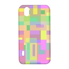 Pastel colorful design LG Optimus P970