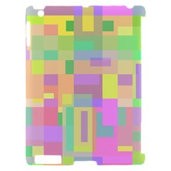 Pastel colorful design Apple iPad 2 Hardshell Case (Compatible with Smart Cover)