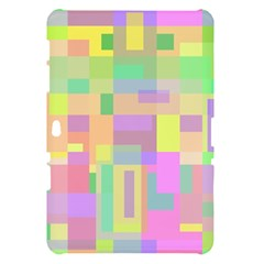 Pastel colorful design Samsung Galaxy Tab 10.1  P7500 Hardshell Case