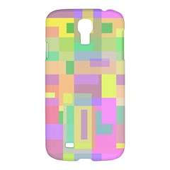 Pastel colorful design Samsung Galaxy S4 I9500/I9505 Hardshell Case