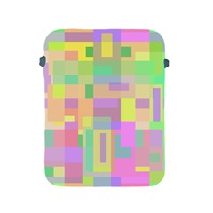 Pastel colorful design Apple iPad 2/3/4 Protective Soft Cases