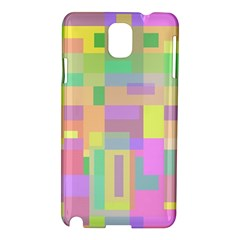 Pastel colorful design Samsung Galaxy Note 3 N9005 Hardshell Case
