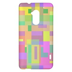 Pastel colorful design HTC One Max (T6) Hardshell Case