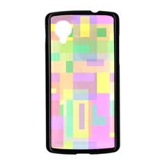 Pastel colorful design Nexus 5 Case (Black)
