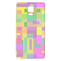 Pastel colorful design Galaxy Note 4 Back Case
