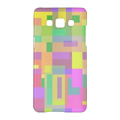 Pastel colorful design Samsung Galaxy A5 Hardshell Case