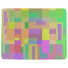 Pastel colorful design Jigsaw Puzzle Photo Stand (Rectangular)