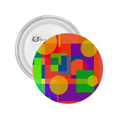 Colorful geometrical design 2.25  Buttons