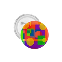 Colorful geometrical design 1.75  Buttons
