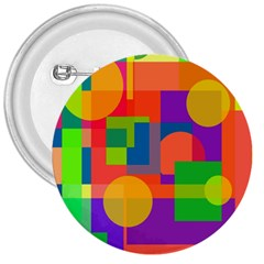 Colorful geometrical design 3  Buttons