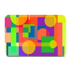 Colorful geometrical design Plate Mats