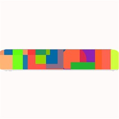 Colorful geometrical design Small Bar Mats