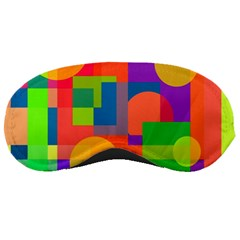 Colorful geometrical design Sleeping Masks