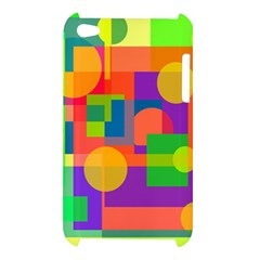 Colorful geometrical design Apple iPod Touch 4