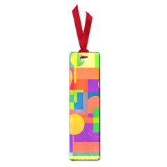 Colorful geometrical design Small Book Marks