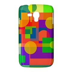 Colorful geometrical design Samsung Galaxy Duos I8262 Hardshell Case