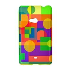 Colorful geometrical design Nokia Lumia 625