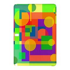 Colorful geometrical design Samsung Galaxy Tab Pro 12.2 Hardshell Case