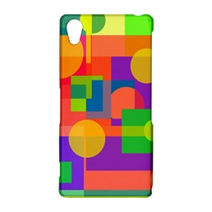 Colorful geometrical design Sony Xperia Z2