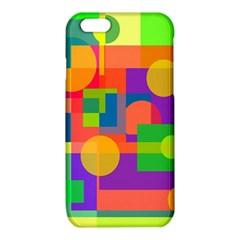 Colorful geometrical design iPhone 6/6S TPU Case