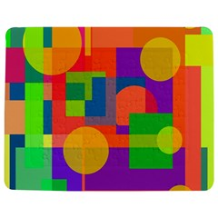 Colorful geometrical design Jigsaw Puzzle Photo Stand (Rectangular)
