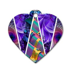 Pizap Com14534840917741 Dog Tag Heart (Two Sides)