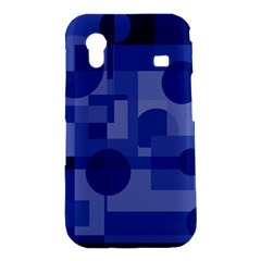 Deep blue abstract design Samsung Galaxy Ace S5830 Hardshell Case
