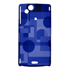 Deep blue abstract design Sony Xperia Arc