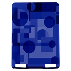 Deep blue abstract design Kindle Touch 3G
