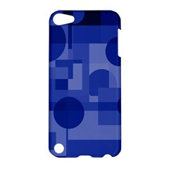 Deep blue abstract design Apple iPod Touch 5 Hardshell Case