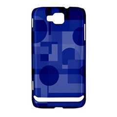 Deep blue abstract design Samsung Ativ S i8750 Hardshell Case