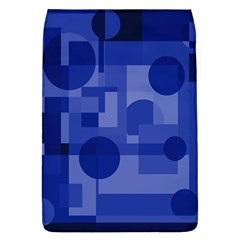 Deep blue abstract design Flap Covers (L)