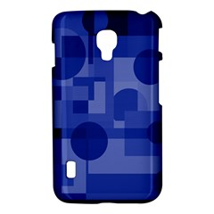 Deep blue abstract design LG Optimus L7 II