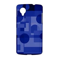 Deep blue abstract design LG Nexus 5