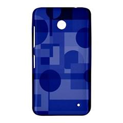 Deep blue abstract design Nokia Lumia 630