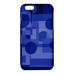 Deep blue abstract design iPhone 6/6S TPU Case