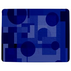 Deep blue abstract design Jigsaw Puzzle Photo Stand (Rectangular)
