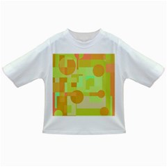 Green and orange decorative design Infant/Toddler T-Shirts