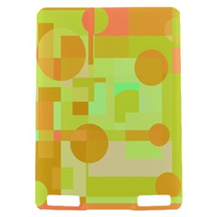 Green and orange decorative design Kindle Touch 3G