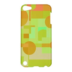 Green and orange decorative design Apple iPod Touch 5 Hardshell Case