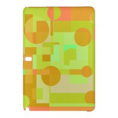Green and orange decorative design Samsung Galaxy Tab Pro 12.2 Hardshell Case