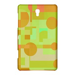 Green And Orange Decorative Design Samsung Galaxy Tab S (8 4 ) Hardshell Case