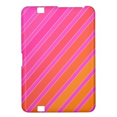Pink elegant lines Kindle Fire HD 8.9