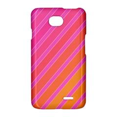 Pink elegant lines LG Optimus L70