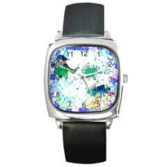 Pizap Com14566954950711 Square Metal Watch