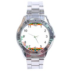 Pizap Com14671380144141 Stainless Steel Analogue Watch