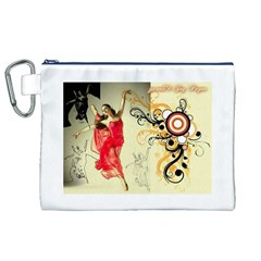 Pizap Com14369077462421 Canvas Cosmetic Bag (XL)