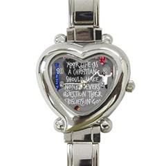 Picmix Com 5019458 Heart Italian Charm Watch