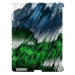 Bluegreen Apple iPad 3/4 Hardshell Case (Compatible with Smart Cover)